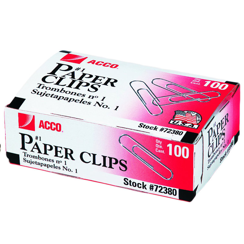 Paper Clips 100ct