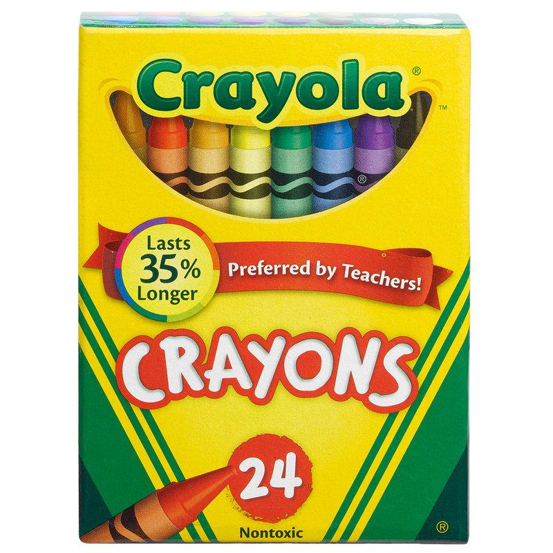 Crayola Assorted Crayons 24ct