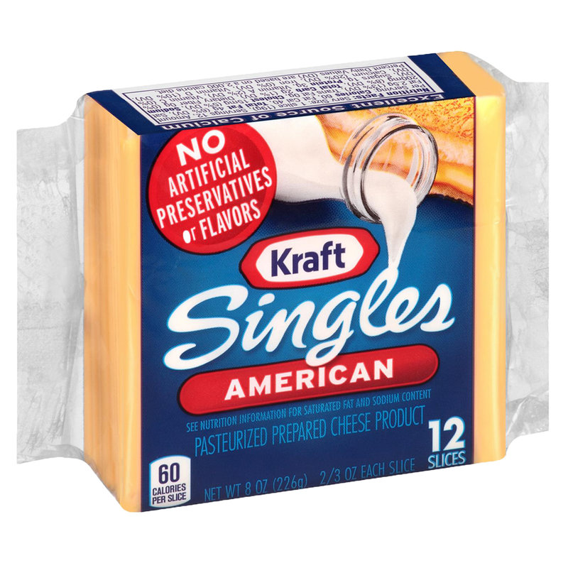 Kraft Singles American Cheese Slices 12ct 8oz