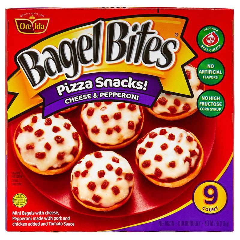 Bagel Bites Frozen Pepperoni Pizza Snacks 9ct 7oz