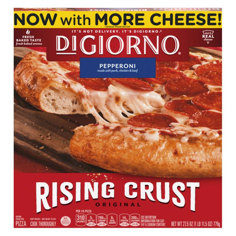 DiGiorno Frozen Rising Crust Pepperoni Pizza 12in 27.5oz