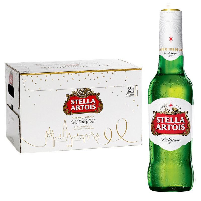 Stella Artois 24pk 11.2oz Btl 5.2% ABV -- delivered in minutes