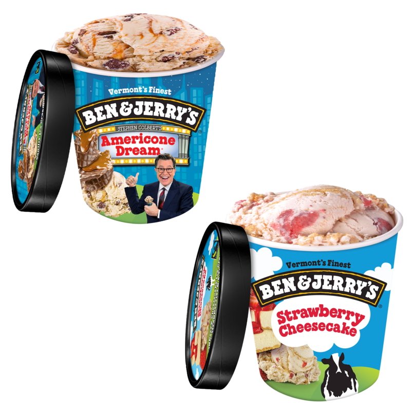 Ben Jerry S The Americone Dream Pint Strawberry Cheesecake Pint Delivered In Minutes I'm not afraid to say it. gopuff