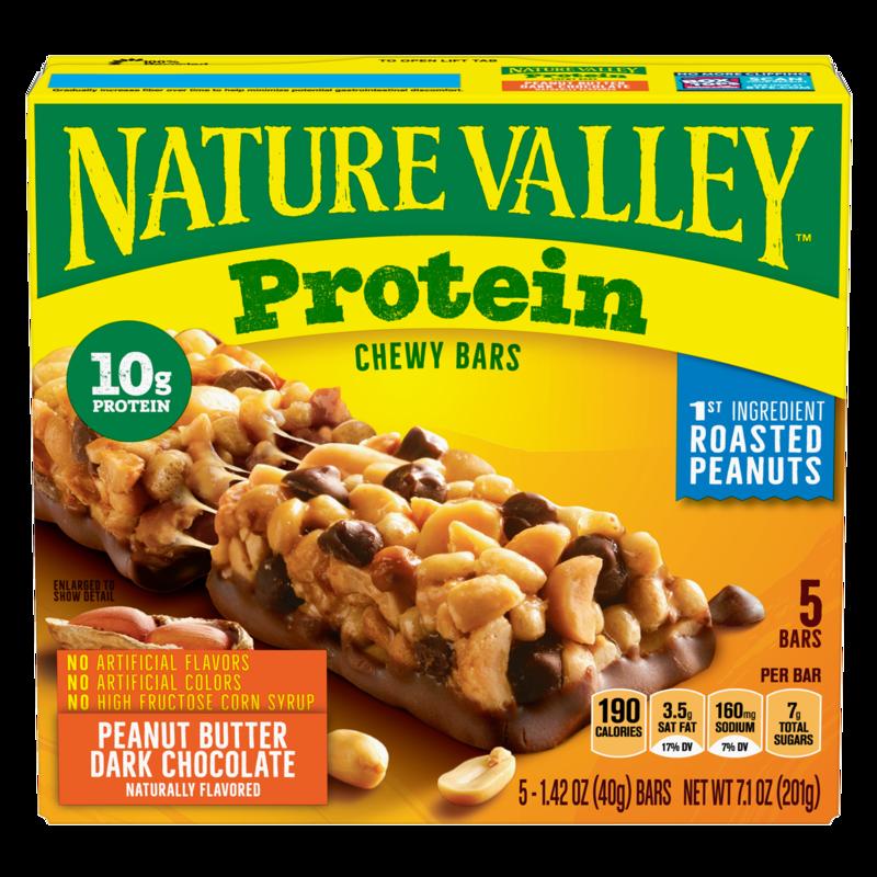 Nature Valley Protein Bar Peanut Butter/Dark Chocolate 5ct/1.42oz