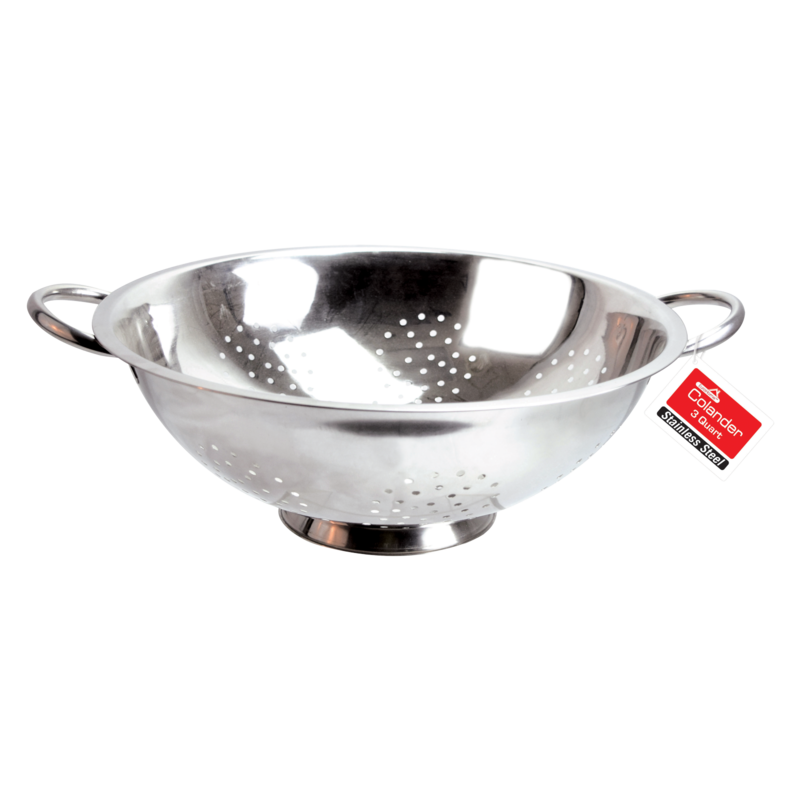 Euro-Home Stainless Steel Colander 3qt